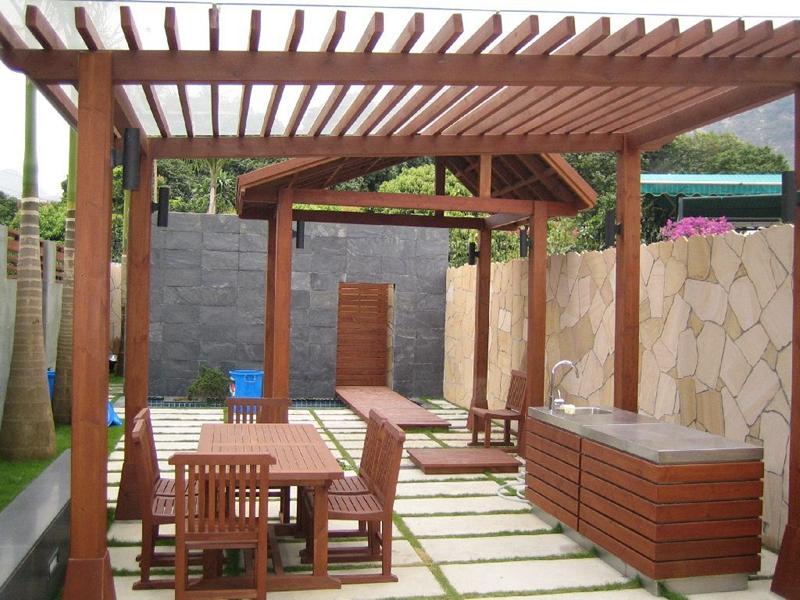 贵州防腐木厂家让您庭院更漂亮