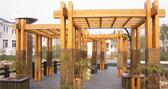 为什么现在凉亭都喜欢用贵州防腐木打造?
