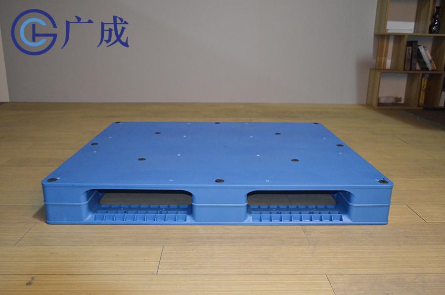 1210平板田字塑料托盤正面進叉口