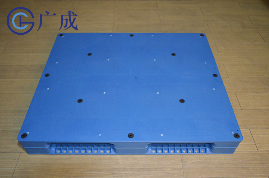 1210平板田字塑料托盤正面