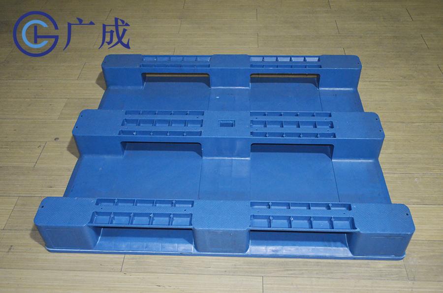 1210平板川字塑料托盤反面