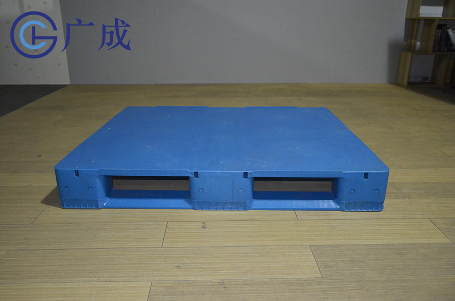 1210F平板川字塑料托盤正面印刷區域