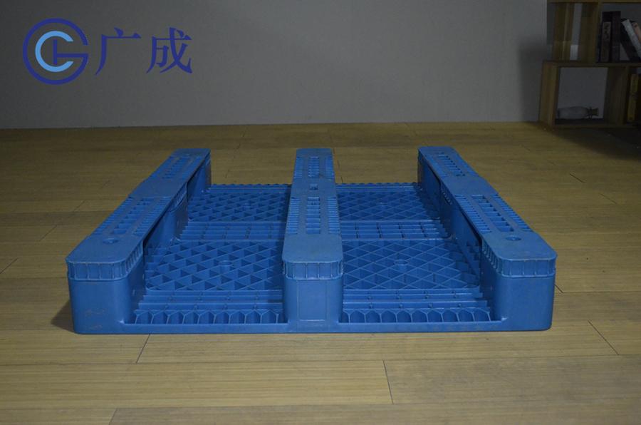 1210F平板川字塑料托盤反面進叉口