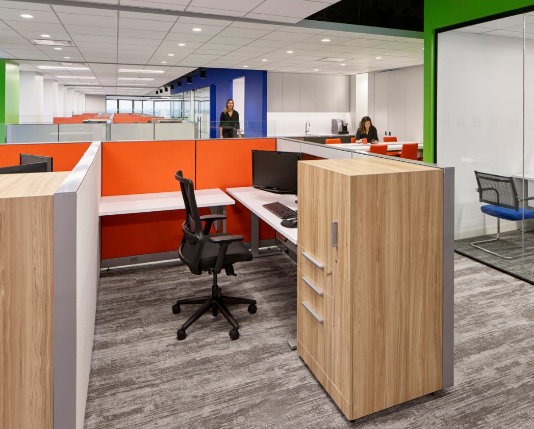 商业办公室设计办公区