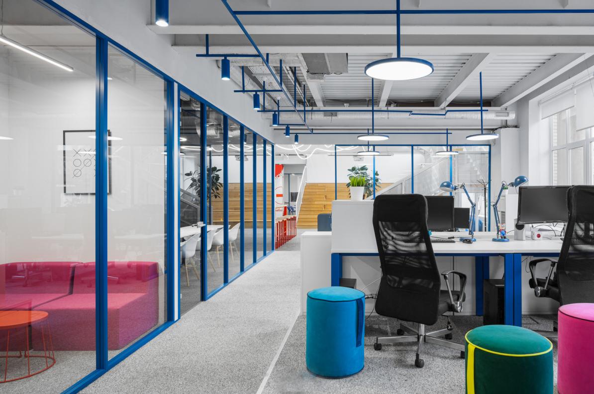 【loft工业风】创意办公室设计