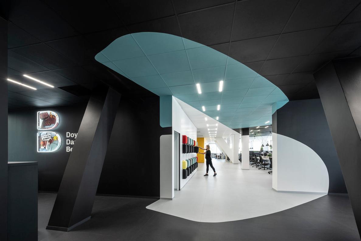 【现代简约】创意办公空间设计