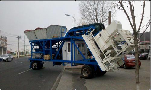 新型移动混凝土搅拌站厂家