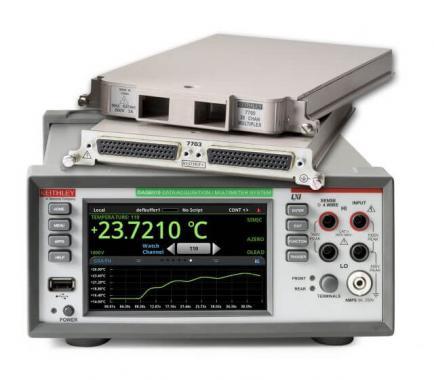 DAQ6510数据采集器和记录万用表