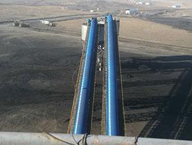 新疆五彩湾项目工程案例