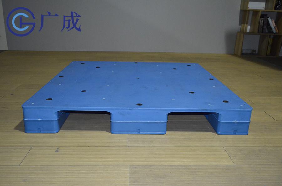 1212平板川字焊接塑料托盤正面進叉口