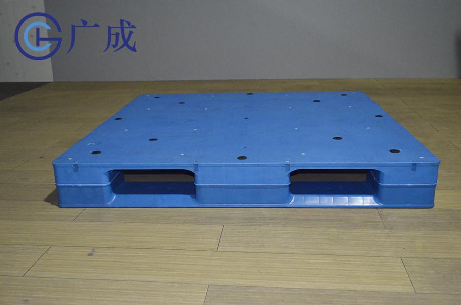 1212平板川字焊接塑料托盤正面印刷區域
