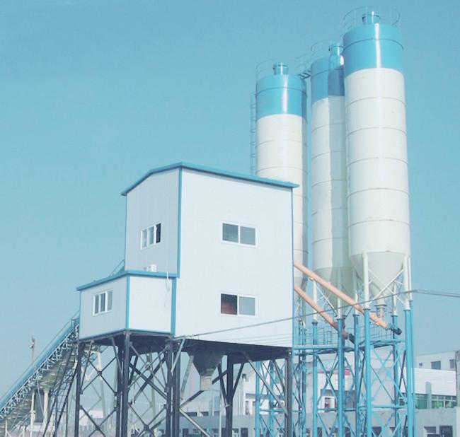 60混凝土搅拌站设备在哈尔滨