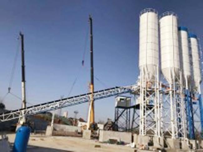 协程HZS90混凝土搅拌站在上海