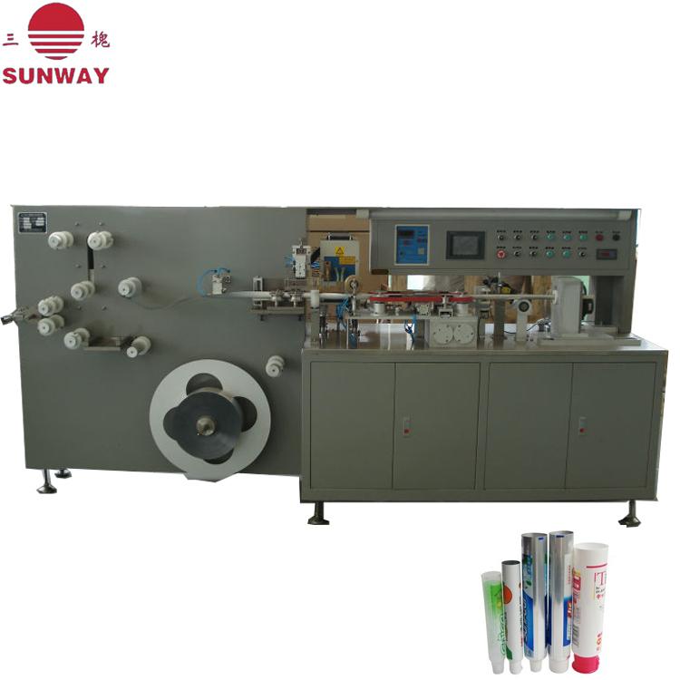 塑料软管制管机