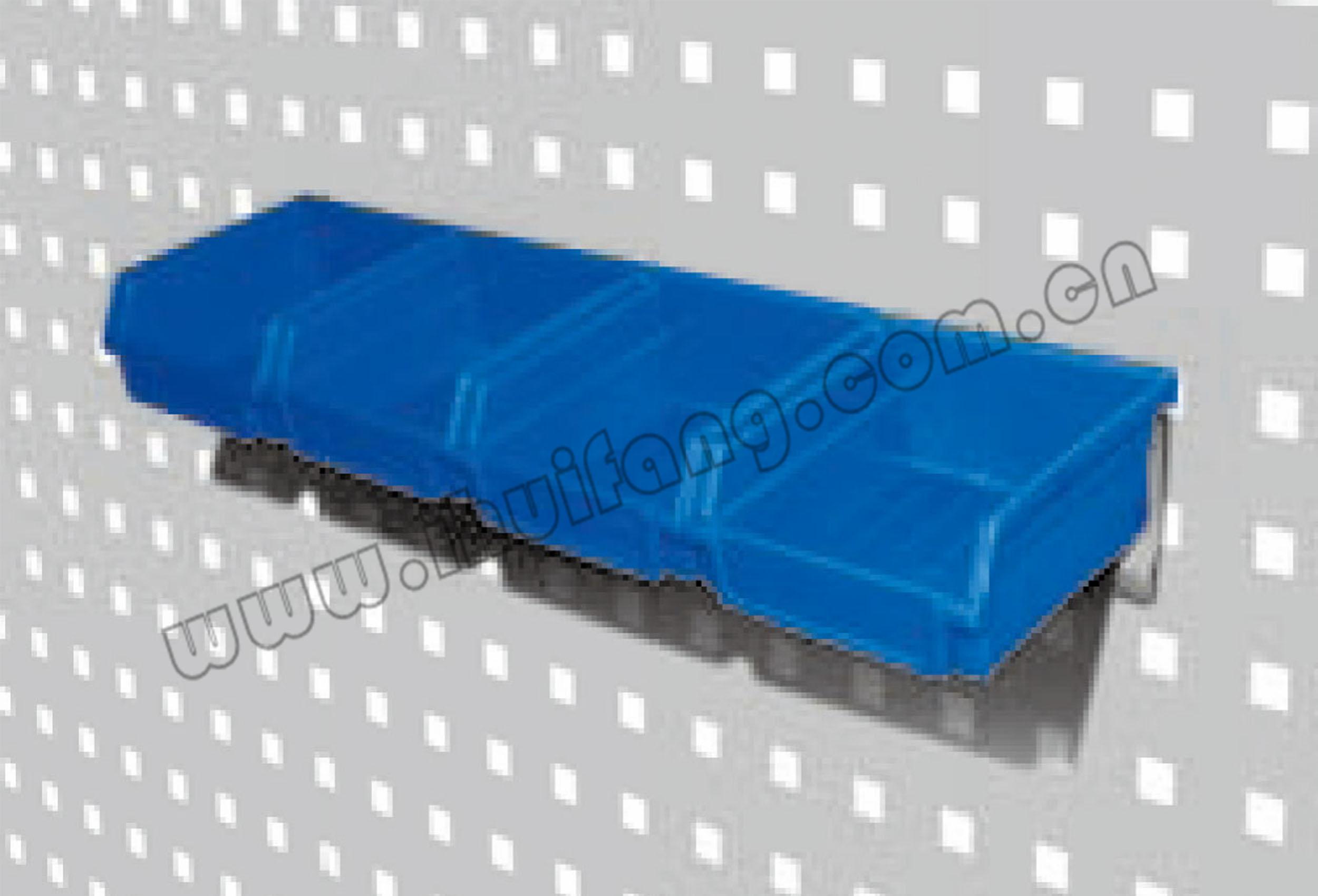 塑料挂钩-背挂零件盒架组