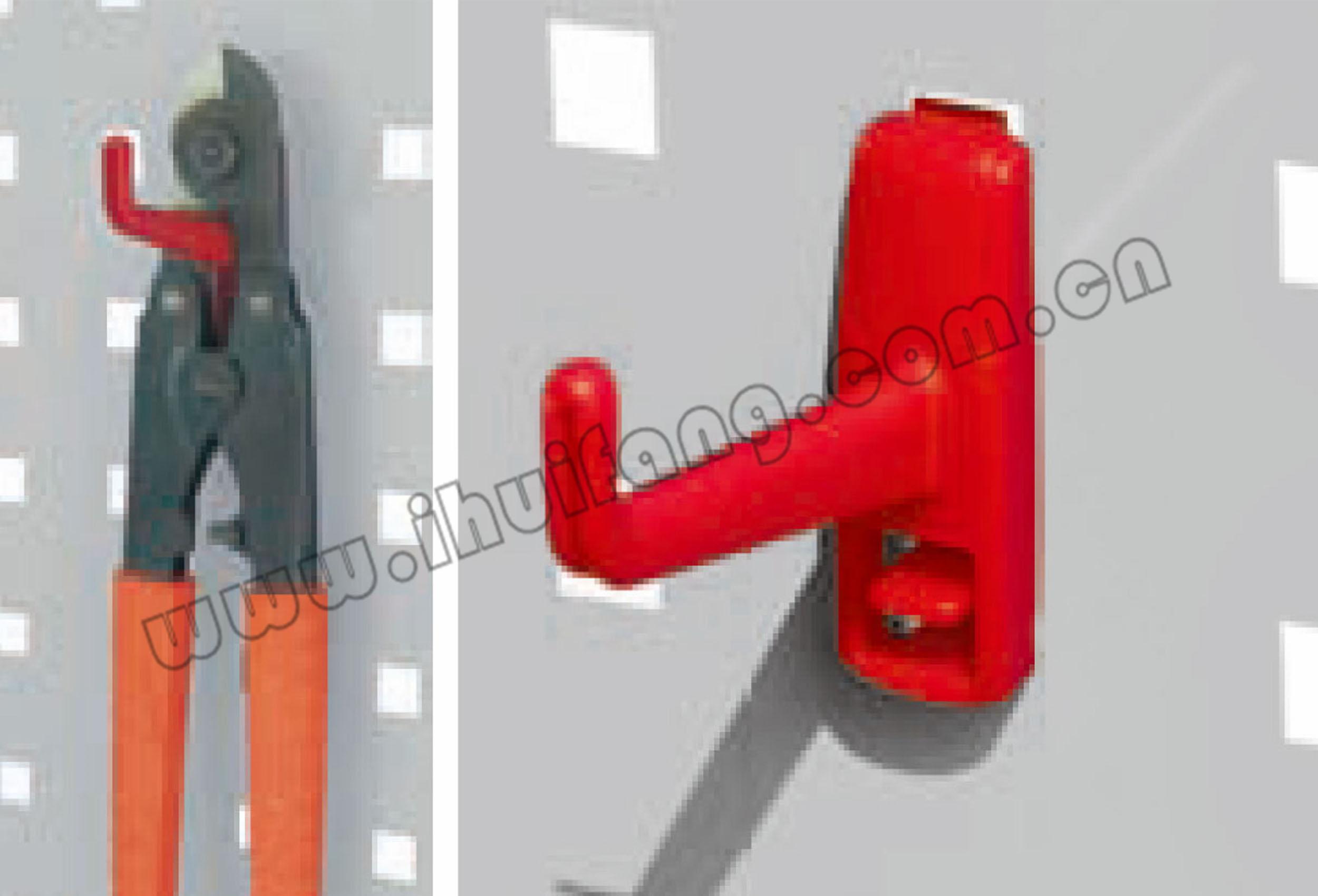 塑料挂钩-中型单钩