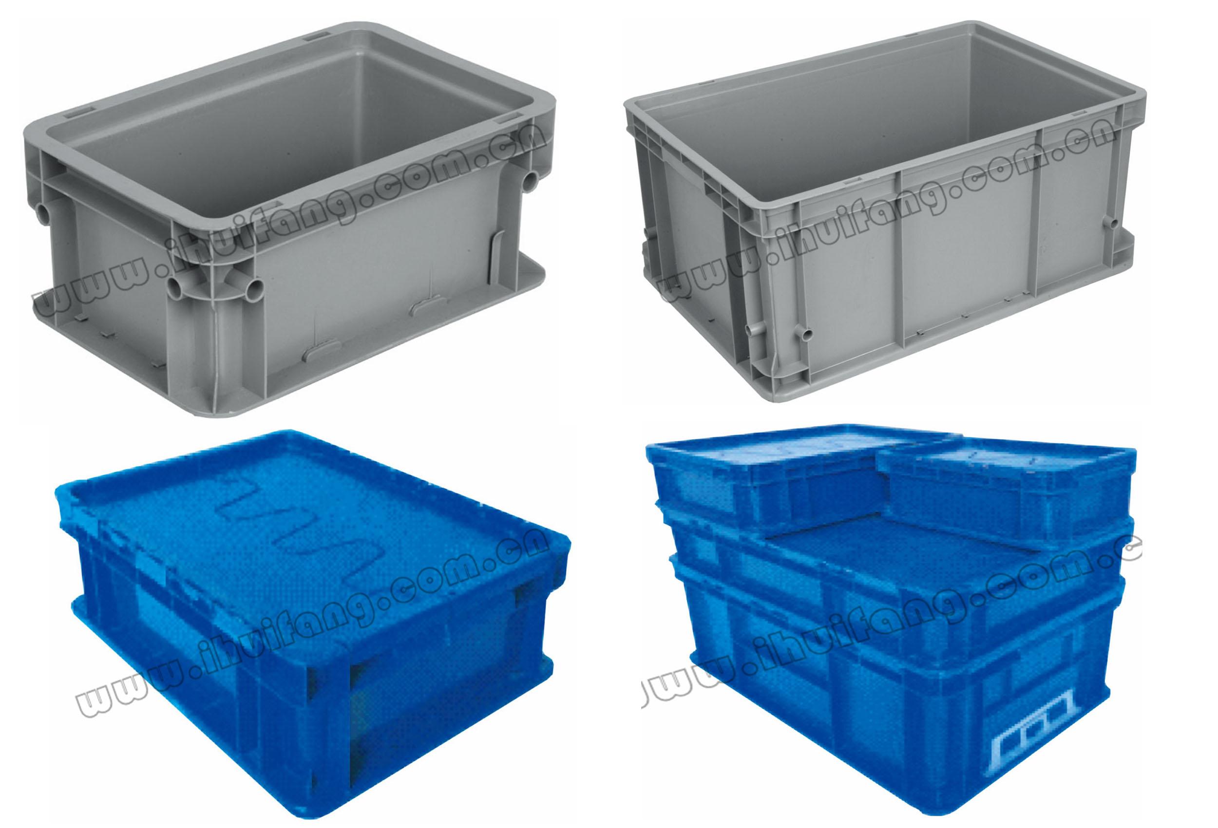 塑料物流容器-可堆垛周转箱