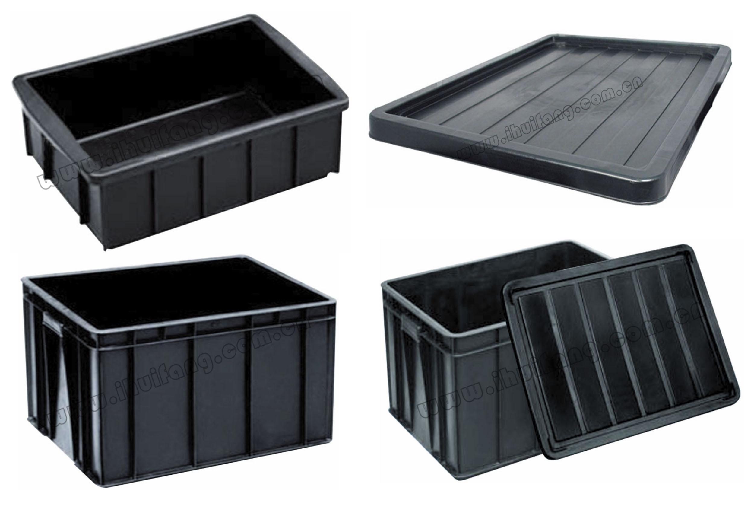 塑料物流容器-防静电周转箱