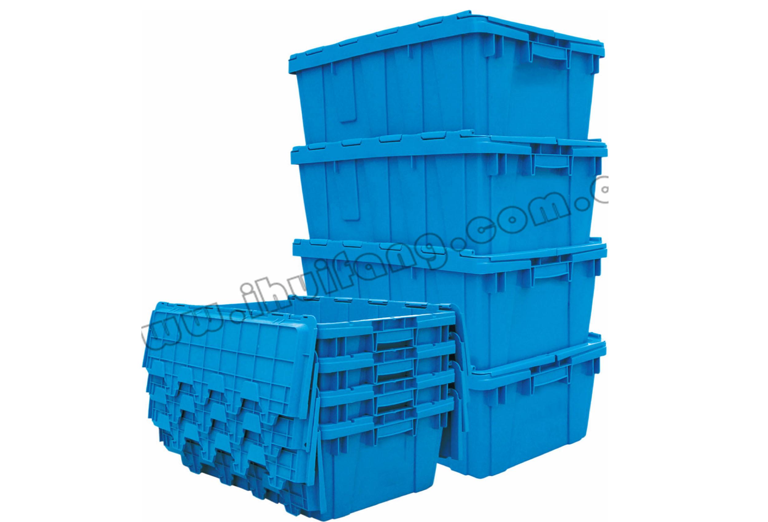 塑料物流容器-斜插箱