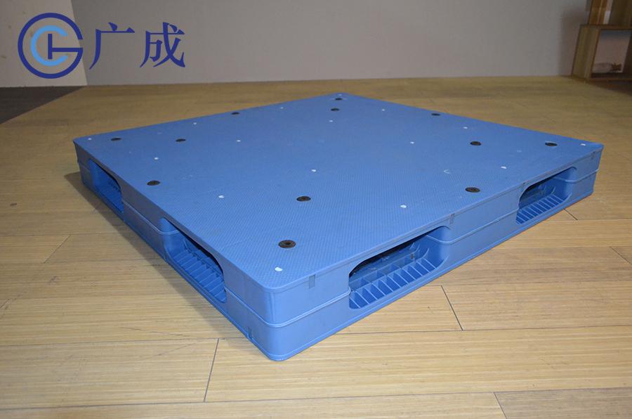 1212平板雙面焊接塑料托盤45度角