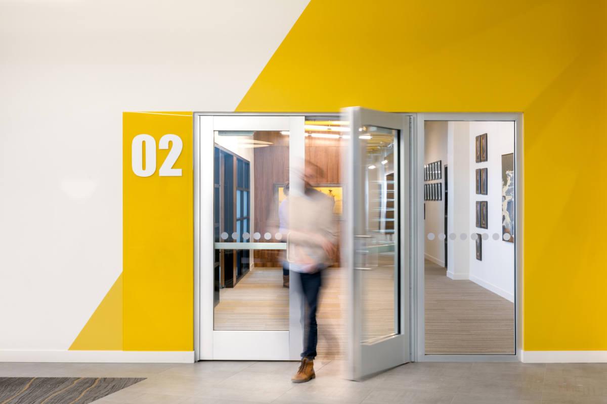 【现代简约】工程办公空间设计