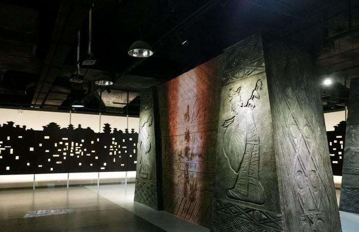 持凡手绘墙带您欣赏青岛汉画像砖博物馆