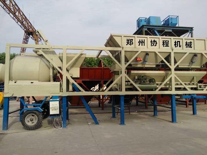 YZW型移动混凝土搅拌站