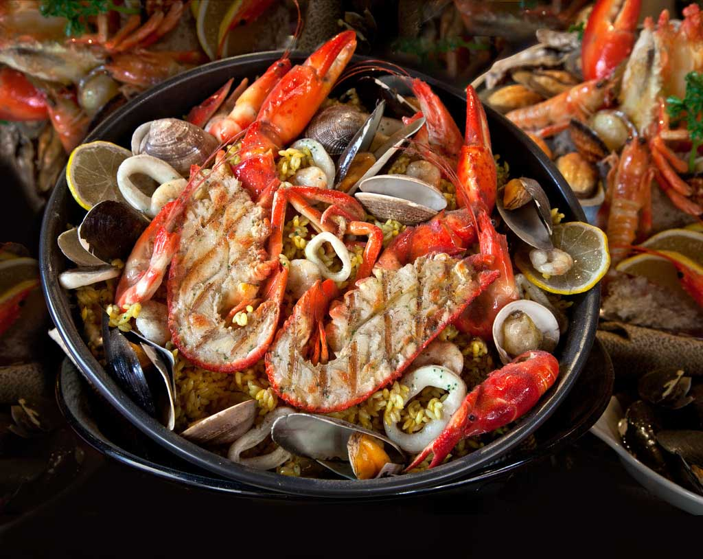 海鲜火锅、单人单锅