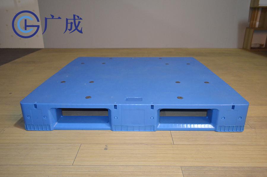 1212B平板川字拼接塑料托盤正面印刷區域