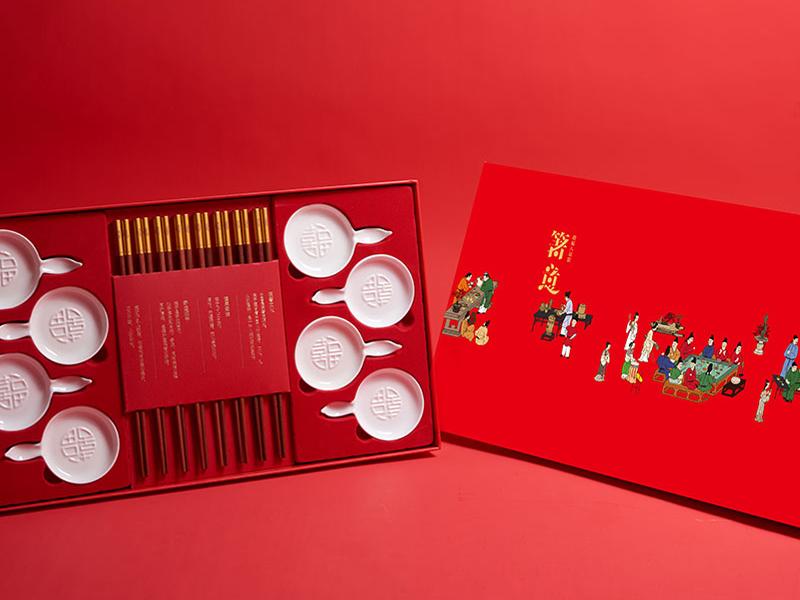 2020新年礼品-中国风餐具套装