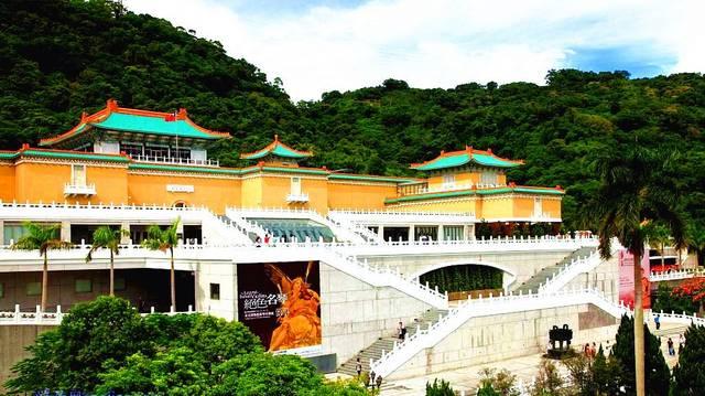 持凡手绘墙带您欣赏台北故宫博物馆