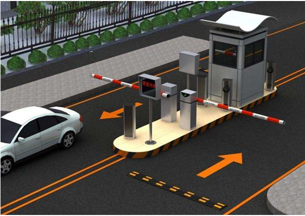 车辆识别智能停车系统