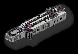 紫宸激光最新研发非标定制流水线焊锡系统