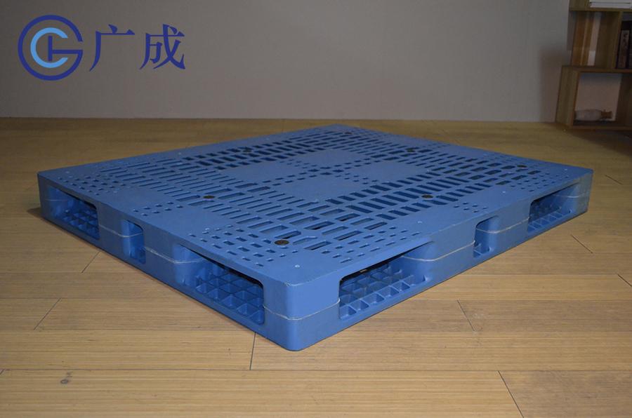 1412網格雙面焊接塑料托盤45度角
