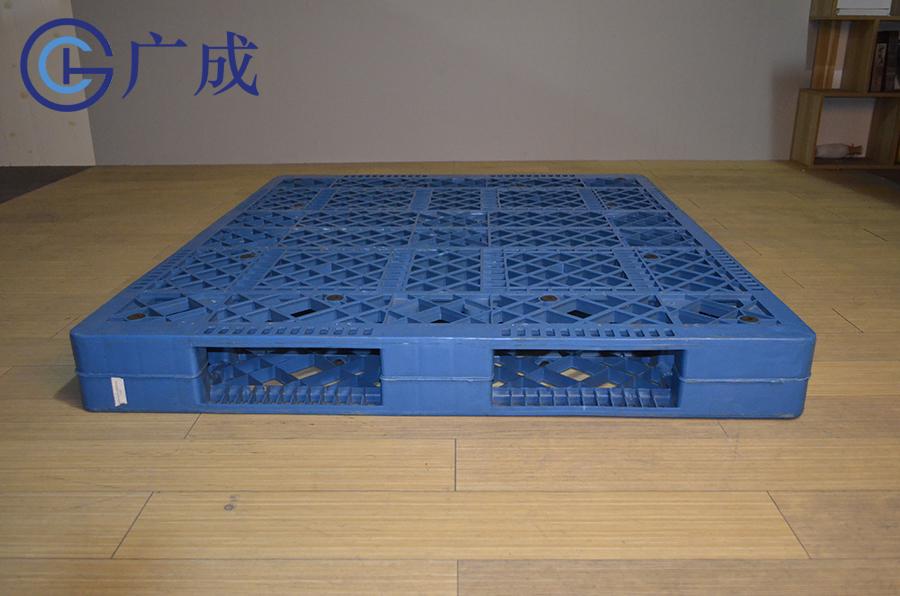 1513網格雙面焊接塑料托盤正面印刷區域