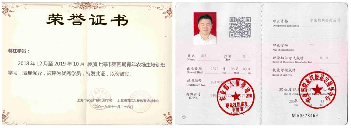 上海宏春苗木专业合作社(鱼虾蟹生态链)