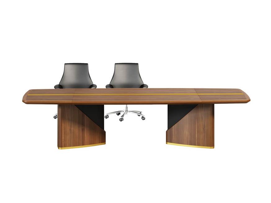 莱茵系列纯实木会议桌