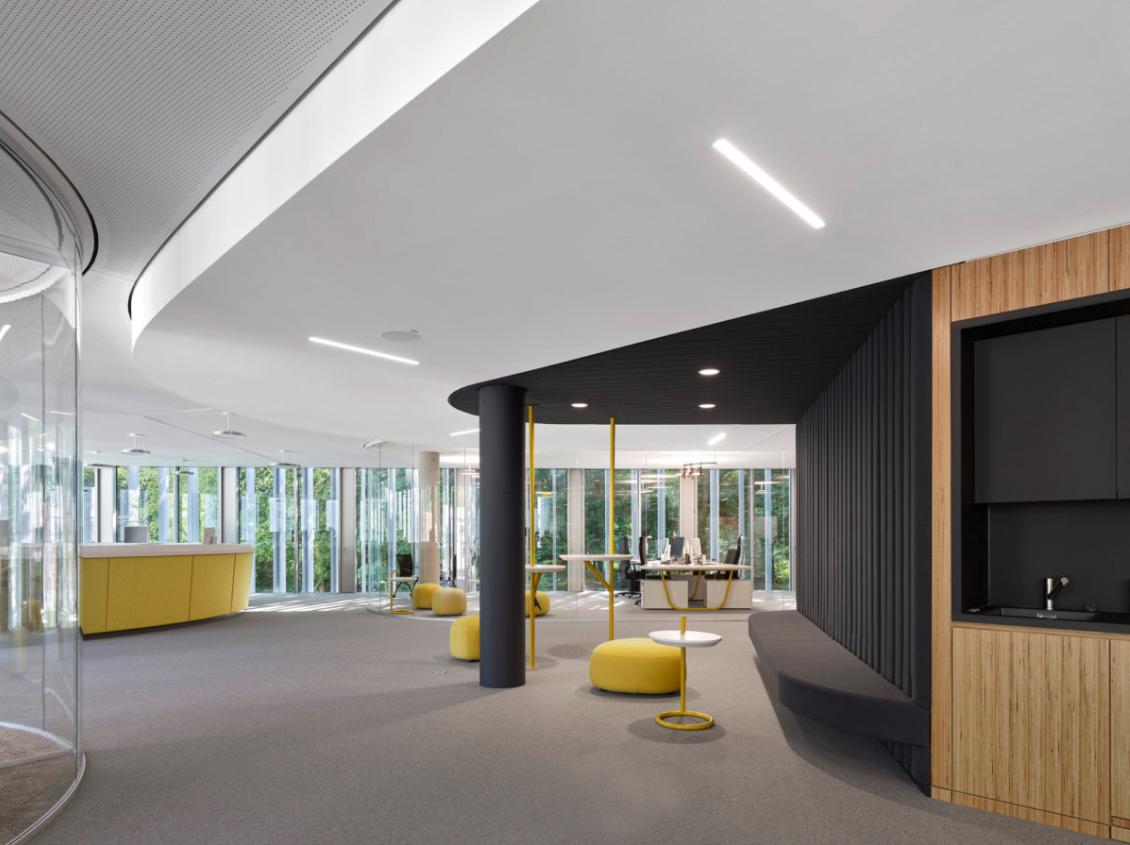 【极简主义】外企办公空间设计
