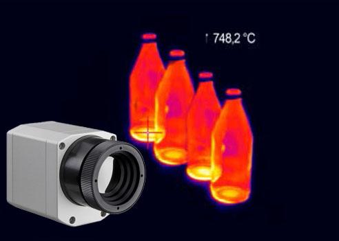 关于玻璃行业专用紧凑型红外热像仪