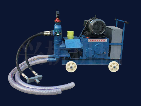 双液注浆泵的技术特点