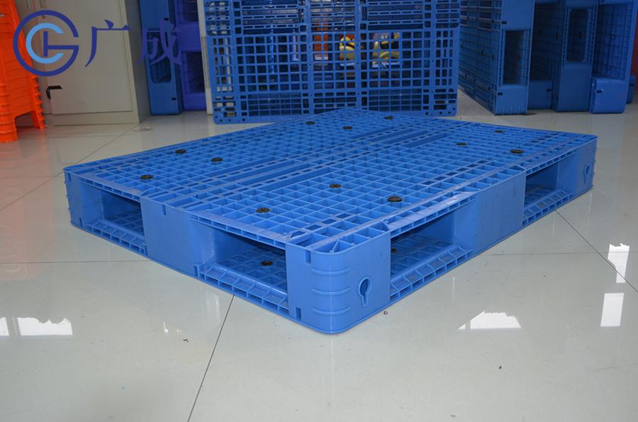 1210网格双面塑料托盘45度角