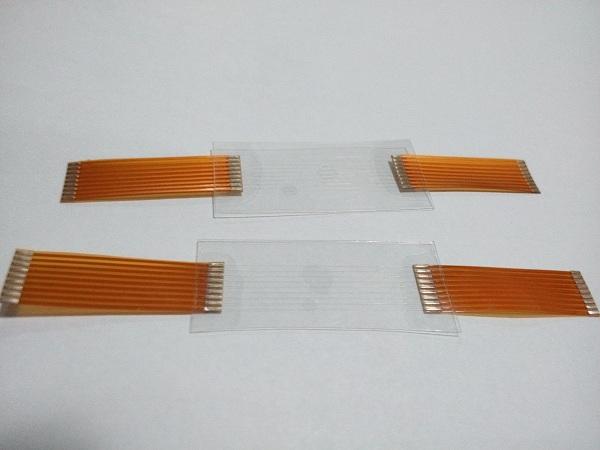 IMG透明线路板激光焊接效果