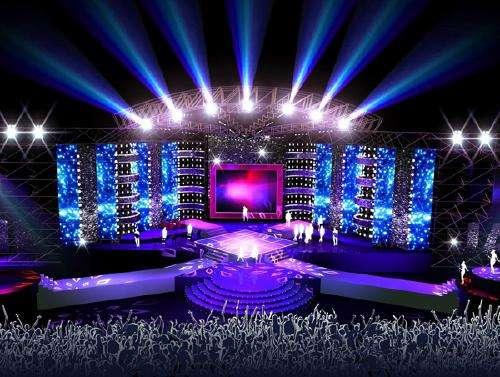 舞台灯光设计需要的三种基本灯光类型
