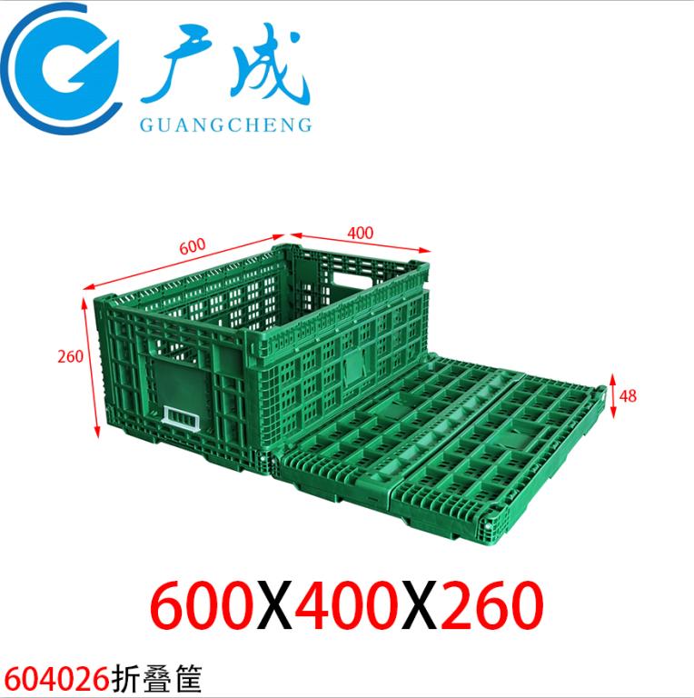 折叠式塑料物流箱在低温冷库环境下使用时需要注意的事项