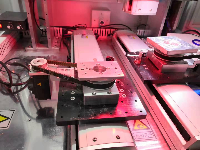 高精型自动送锡丝激光焊接机工作台