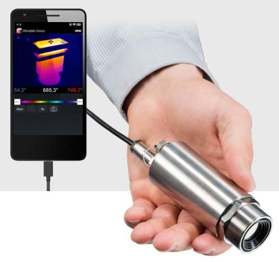 可以连接智能手机APP的红外测温仪
