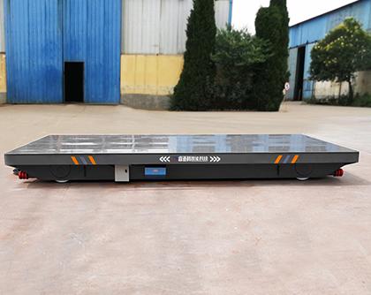 無軌電動平車氣動隔膜泵的工作特點