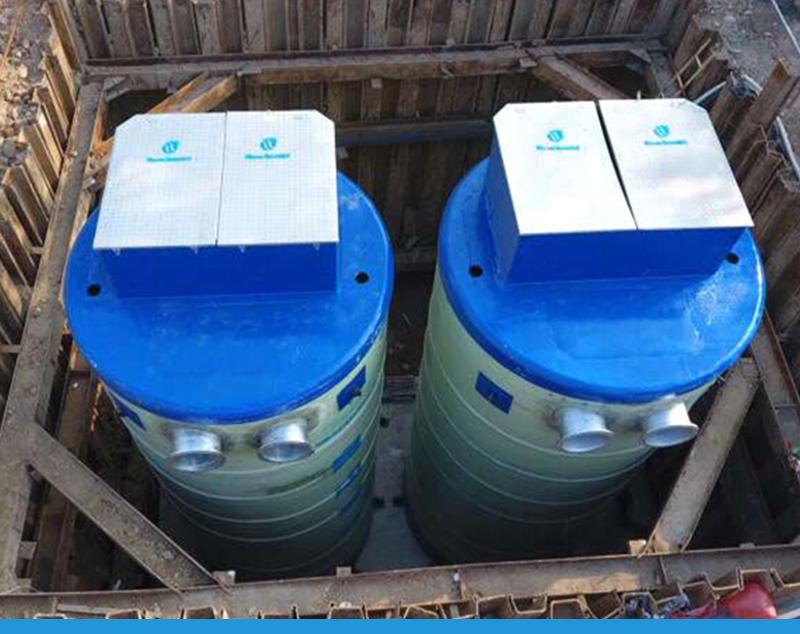模块一体化蓄水排涝泵站