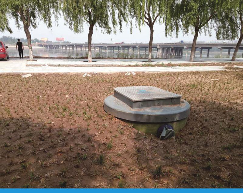 园林绿化取水泵站