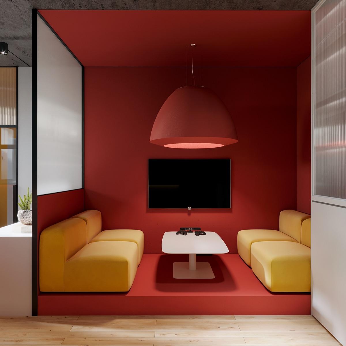 【极简主义】办公室办公空间设计